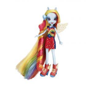 """Кукла Радуга Дэш (Rainbow Dash) """"Сделай прическу"""", серия Equestria Girls, MY LITTLE PONY"""
