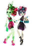 Игровой набор Рошель Гойл и Венера МакФлайтрап (Rochelle Goyle&Venus McFlytrap), серия Зомби Шейк, MONSTER HIGH