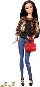 Кукла Ракель Leopard Print Jacket, серия Уличный стиль, BARBIE