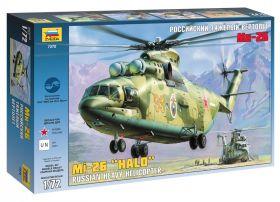 Сборная модель Российский тяжелый вертолет Ми-26 (1:72), ЗВЕЗДА