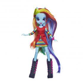 Кукла Радуга Дэш (Rainbow Dash) с аксессуарами, серия Equestria Girls, MY LITTLE PONY
