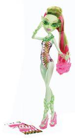 Кукла Венера МакФлайтрап (Venus McFlytrap), серия Уроки плавания, MONSTER HIGH
