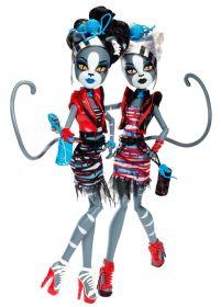 Игровой набор Мяулодия и Пурсефона (Meowlody and Purrsephone), серия Зомби Шейк, MONSTER HIGH