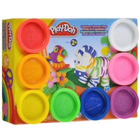Набор пластилина (8 баночек) Rainbow Color Pack, PLAY-DOH
