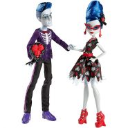 "Игровой набор Гулия Йелпс и Слоу Мо (Ghoulia Yelps&Sloman ""Slo Mo"" Mortavitch), MONSTER HIGH"