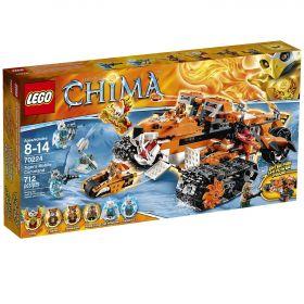 Lego Legends of Chima 70224 Передвижной командный пункт Тигров #