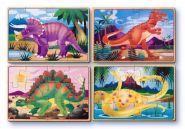 Деревянные пазлы Динозавры, MELISSA&DOUG
